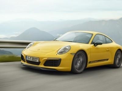 Porsche 911 T em modo analógico