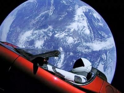 O que é feito do carro espacial de Elon Musk?