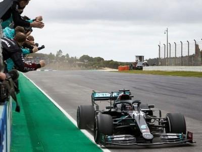 Fórmula 1: Hamilton ganha em Portimão e soma número recorde de vitórias