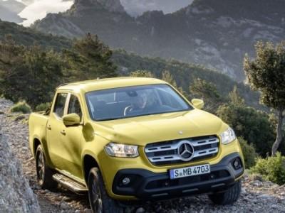 Classe X, a primeira pick-up da Mercedes